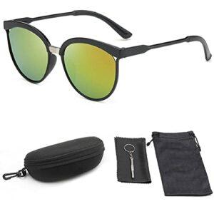 Tixiyu Lot de 5 paires de lunettes de soleil classiques avec protection UV400 pour sports de plein air, golf, cyclisme, pêche, randonnée, lunettes de soleil pour hommes, femmes et jeunes