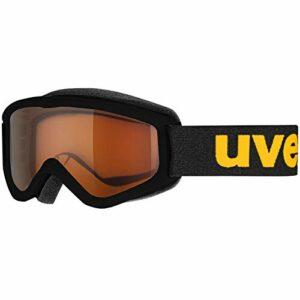 Uvex – Masque de ski Speedy Pro pour enfant, noir, taille unique