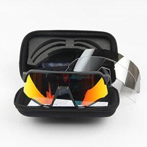 XMYNB Lunettes de Soleil Lunettes De Soleil À Vélo Hommes Goggles Vélo Montagne Eyewear Uv400 Équitation Sunglasses Accessoires