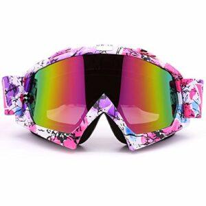 Zdatt Professional Adulte Motocross Dirt bike ATV Moto Lunettes de ski Moteur Gafas protection UV Ski Snowboard
