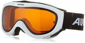 Alpina A7008-131 Freespirit Lunettes de ski Blanc
