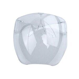Beifeng Masque facial complet réutilisable et confortable pour protéger les yeux, la bouche et le nez pour l'extérieur