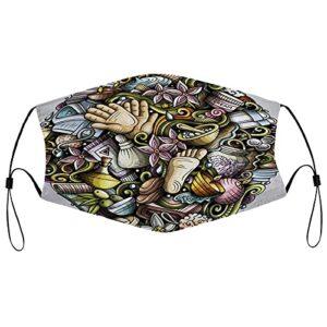 Best-design Masque de massage UV pour la pêche, la chasse, la course à pied, le ski