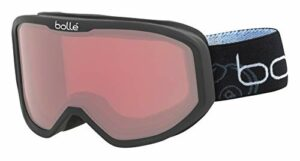 bollé Inuk Masques de Ski Vermillon Bébé Unisexe Extra Small, Black Bomb Matte