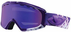 Giro Masque de ski femme Siren Purple Shibori, taille unique