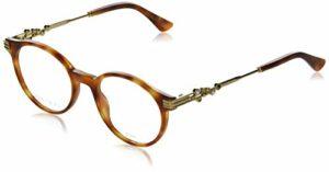 Jimmy Choo – Monture de lunettes – Femme Marron Havana – Gold 49