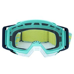 Lunettes De Moto Verres de moto Goggles Goggles de motocross Casque Moto Dirt Vélo VTT Ski de sport en plein air Scooter Lunette Moto Vintage (Color : Goggles Glasses 5)