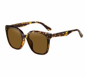 Lunettes de soleil polarisées pour hommes et femmes; cadres vintage / classiques / élégants; objectifs haute définition; golf / conduite / pêche / sports de plein air / lunettes de soleil tendance