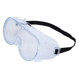 MYXFASITA Outil de protection de lunettes de sécurité anti-buée et anti-éclaboussures Transparent 0513