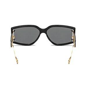 Nouveau style lunettes de soleil de cyclisme cadre noir VTT miroir de protection une pièce miroir de sport