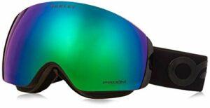 Oakley Flight Deck Xm Masque de Ski Mixte Adulte, Factory Pilot Blackout/Prizm Jade Iridium, 99