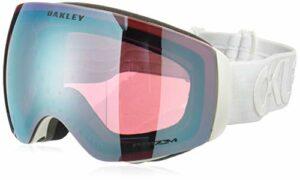 Oakley Flight Deck Xm Masque de Ski Mixte Adulte, Factory Pilot Whiteout/Prizm Sapphire Iridium, 99