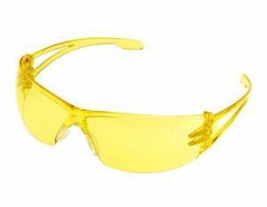 Passerelle de sécurité Varsity enveloppant Lunettes de sécurité oculaire, Amber Lens, 1
