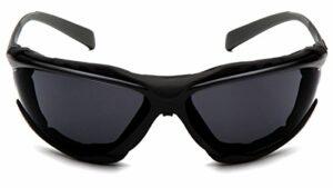 Pyramex Safety SB9323STM Proximity Lunettes de sécurité, monture noire, verres gris foncé, verres gris foncé