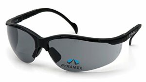Pyramex Safety Venture II lecteurs, Black Frame/Gray Lens