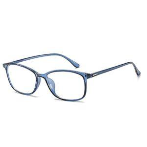ROSG Protection Eye Vision Lunettes de Blocage de la lumière Bleue, Lunettes de Lecture d'ordinateur, Lunettes de Jeu, Lunettes de télévision pour Femmes Hommes