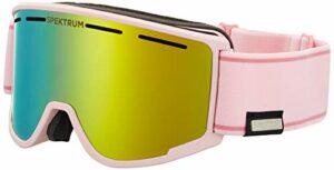Spektrum Templet Masque de ski Rose poussière Taille M