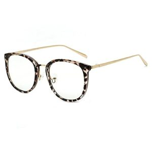 TEYUN Cyxus Bleu Blue Block Blocking Lunettes d'ordinateur pour Femmes Hommes Anti-Oeil Fatigue Eyeglasses Fashiontr90 Clear Lens Eyewear 8169