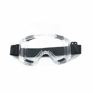 TOMYEER Lunettes de protection anti-buée et anti-rayures, protection UV pour chantier de laboratoire