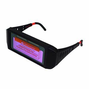 YOULY Lunettes de Soudure PhotoéLectriques Automatiques de de Oculaire à Solaire pour Assombrissement Automatique