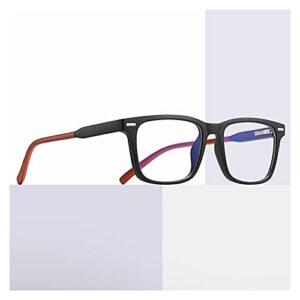 yqs Lunettes pour Lire Lunettes de Lecture Hommes Anti Blue Presbyopic Eyeglasses Antifatigue Ordinateur Eyewear +0.0 +1.0 +1.5 +2.0 +2.5 +3.0 +3.5 +4.0 (Eye Prescription : +100, Frame Color : C04)