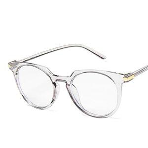 Anti-Blue Glassesoffice Lunettes de vue Anti Blue Light Lunettes d'ordinateur surdimensionnées Femmes bloquant les lunettes de jeu Cadre Hommes Grey2
