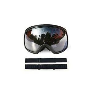 CZFSKCZ Masque de Ski, Équipement de Lunettes de Ski de Sports de Plein air de qualité supérieure à Double Couche sphérique (Color : F)