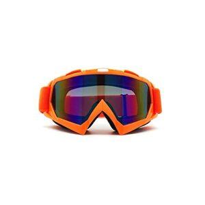 CZFSKCZ Masque de Ski, Voitures Hors Route Racing Outdoor Riding Verres Eductionnelles Lunettes de Ski (Color : Colored Lenses)