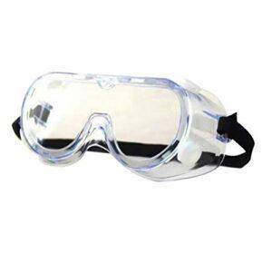 Exceart Lot de 2 paires de lunettes de protection personnelles – Protection contre les éclaboussures – Pour le travail en extérieur