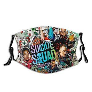 Harley Quinn Masque de protection UV pour la pêche, la chasse, la course à pied, le ski
