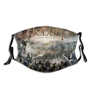 Hobbit Masque UV pour la pêche, la chasse, la course à pied, le ski