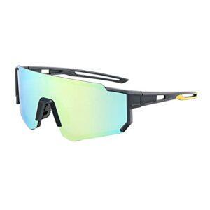 JLJLJL Lunettes à vélo Polarized, Hommes Femmes MTB Goggles Sports en Plein air Pêche à la pêche et activités de Plein air Sunglasses Shades C1