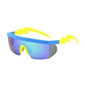 JLJLJL Verres à vélo, Sports Sunglasses for Hommes Femmes Lunettes de Soleil pour Le Cyclisme Pêche Pêche Golf Baseball Courir Randonnée Sports de Plein air C6