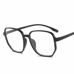 Lunettes 3pcs unisexe anti-rayons bleu lunettes d'ordinateur Femmes vintage rond mon jeux lunettes hommes anti-oeil lyestrain blocking lunettes Lunettes De Blocage De Lumière Bleue (Size : Black)