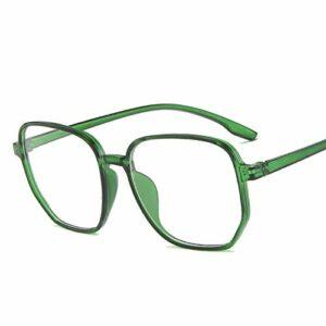 Lunettes 3pcs unisexe anti-rayons bleu lunettes d'ordinateur Femmes vintage rond mon jeux lunettes hommes anti-oeil lyestrain blocking lunettes Lunettes De Blocage De Lumière Bleue (Size : Green)