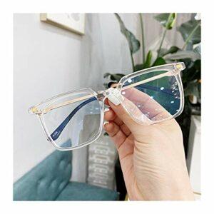 Lunettes 3pcs vwktuun lunettes lunettes carrés lunettes lunettes de lunettes pour femmes hommes métal cadre myopie lunettes lunettes anti-rayons bleu lunettes d'ordinateur Lunettes De Blocage De Lumiè