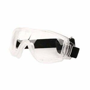 Lunettes de protection Exceart – Protection personnelle – Anti-buée – Anti-projections d'eau – Résistantes aux chocs – Pour travailler en extérieur
