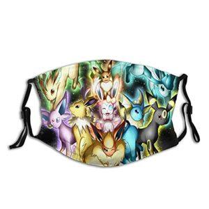 Masque UV Pokémon pour la pêche, la chasse, la course à pied, le ski