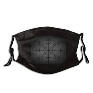 Masque UV Ravens mythologie nordique viking pour la pêche, la chasse, la course à pied, le ski