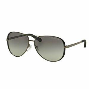 Michael Kors Chelsea 101311 59 Montures de lunettes, Noir (Gunmetal/Black/Grey Gradient), One size (lot de 5) Femme