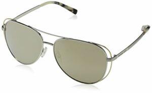 Michael Kors Lai 11765A 58 Montures de lunettes, Or (Silver/Pale Gold/Tone/Bronzemirror), Femme