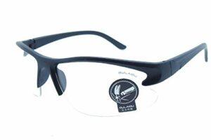 (monture noire – verres – transparent) lunettes de soleil – sport – hommes – course à pied – cyclisme – ski – polarized uv400