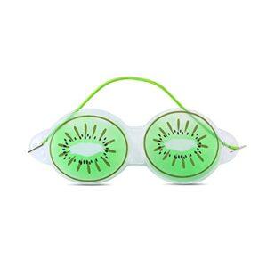 PPuujia Compresse de glace pour les yeux – Soulage la fatigue – Élimine les poches noires – Joli masque rafraîchissant pour les yeux – Accessoire de beauté pour femme – Couleur : 03