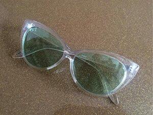 PPuujia Eyewear 2020 Lunettes vintage œil de chat avec monture transparente pour femme