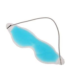 PPuujia Masque de sommeil en gel pour enlever les cernes – Protection des yeux – Protection des yeux – Frais – Apaisant et fatigué – Couleur : bleu