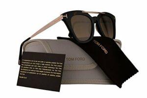 Tom Ford – Femme – FT0575 Anna-02 Lunettes de soleil w/Brown objectif 52G TF575 Marron foncé Grand