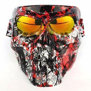 XKMY Lunettes de ski, lunettes de ski, lunettes de motoneige, masque de ski, lunettes de snowboard, lunettes de soleil coupe-vent pour motocross, neige (couleur : 5)