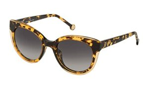 CH Carolina Herrera – Lunettes de soleil pour femme Carolina Herrera Cat Eye d'acétate Havana