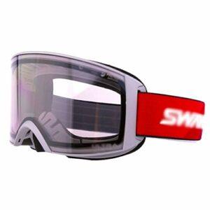 FOLA Lunettes de Ski Unisexe Anti-buée et Coupe-Vent Lunettes Équipement Professionnel Lunettes de Ski Neige Peut-il Porter des Lunettes