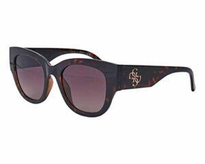Guess lunettes de soleil GU7680 52F la Havane marron taille 50 mm Femme